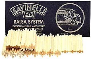 Savinelli 9mm Balsa Filters - 3 Packs/15 each
