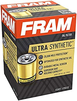 FRAM Ultra Synthetic 20K Mile Change Interval Spin-On Oil Filter