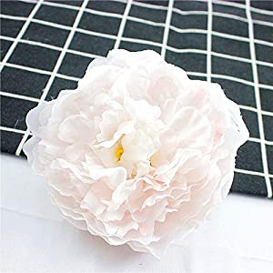 Artificial and Dried Flower 2PCS 9.5cm Silk Roses Heads Camellia vases for Decoration Wedding car Home Fake Artificial Flowers Wall Gifts Brooch