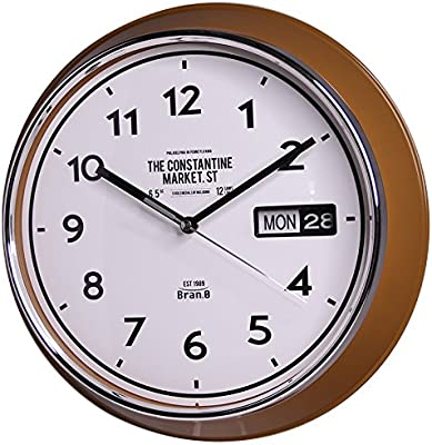 Y-Hui Wall Clock Living Room Garden Bedroom Home Calendar In Table 13 Inch (