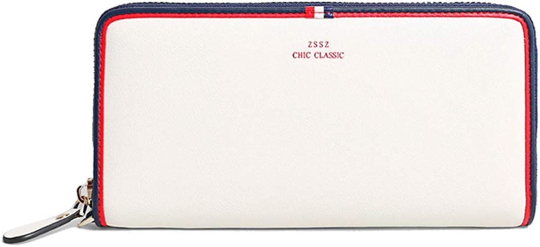 Leather Ladies Zip Wallet, Clutch, Large Travel Wallet Handbag, Ladies Boxed Gift, Card Package