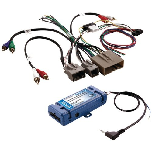 PACRP4FD11 - PAC RP4-FD11 All-in-One Radio Replacement Steering Wheel Control Interface (For select Ford vehicles with CANbus)