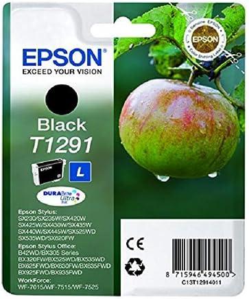 Epson T1291-C13T12914020 Siyah Orjinal Kartuş
