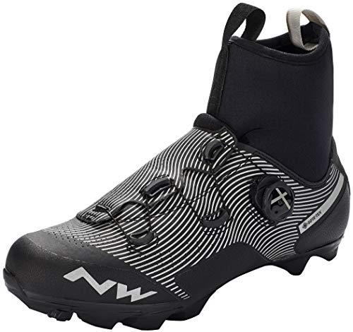 Northwave Celsius XC GTX Winter MTB Reflective 2021 - Zapatillas para bicicleta de montaña, color negro, color Negro, talla 42.5 EU