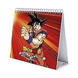 Grupo Erik - Calendario de Escritorio 2021 Dragon Ball, 17x20 cm (CS21033)