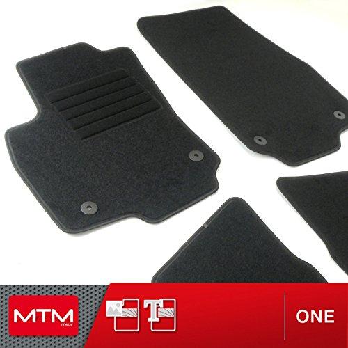 MTM Alfombrillas para Astra H Wagon Desde 2004 al 2009, a Medida en Velour Antideslizante One cod. 2488