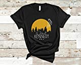 Der-Mot Ke-Nnedy Sun &Amp; Trees Birds Sil-Houette Tee T-Shirt Best Women Shirt - Men Fashion Old Fashioned Teen Girl Graphic
