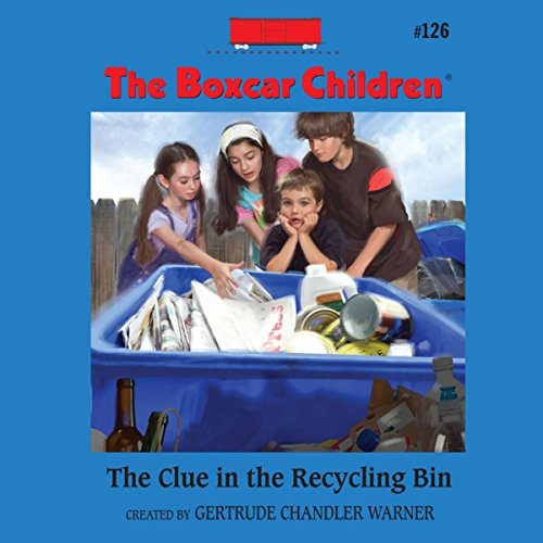 The Clue in the Recycling Bin audiobook cover art