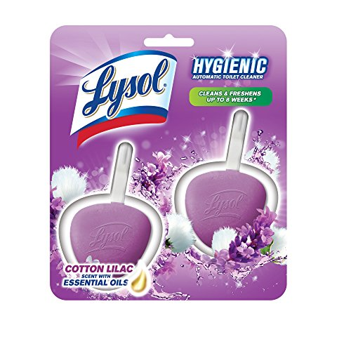 Lysol No Mess Automatic Lavender Fields Toilet Bowl Cleaner - 2ct