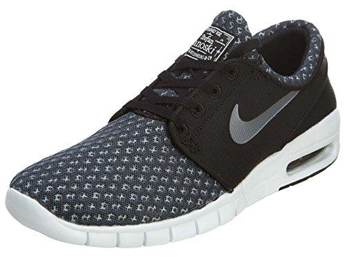 Nike Stefan Janoski Max Hombres Zapatillas, Negro, 36.5 EU