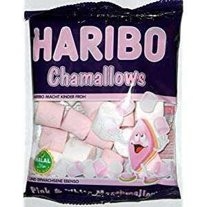halal haribo chamallows pink & white marshmallows sweets 70g Halal Haribo Chamallows Pink & White Marshmallows Sweets 70g 517kQPrIe0L