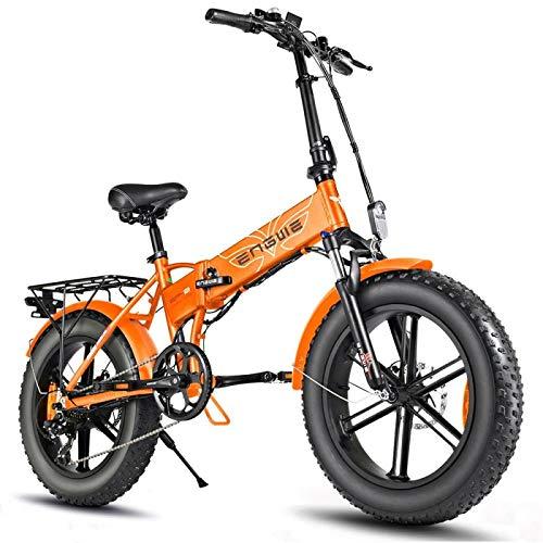 ENGWE EP-2 Pro, 750W, mountain bike elettrica pieghevole, con pneumatici da 20 pollici (arancio scuro)