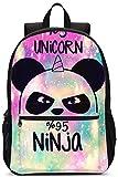 Mochila Escolar Galaxy Panda Se Adapta A Niños Adolescentes Regalos Resistentes Hombres Y Mujeres Bolsa De Viaje Laptop Business School Daypack