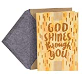 Dayspring Clergy Appreciation Day Card (God Shines Through You)