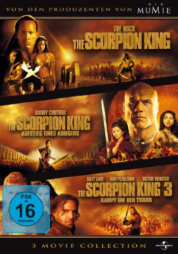 The Scorpion King 1-3 - Box