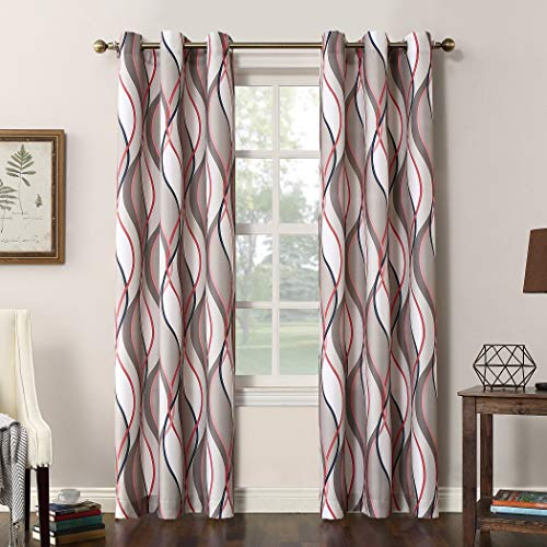 Grommet Curtains are a nice touch in rv decor