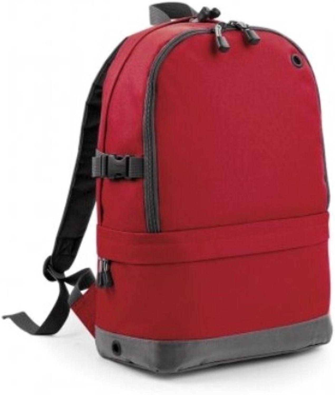BagBase Sports Backpack, Black, One Size