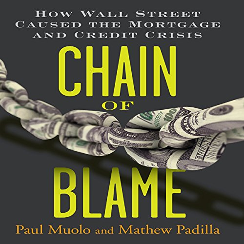 Chain of Blame audiobook cover art