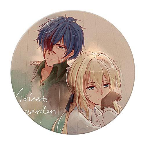 cluis Anime Violet Evergarden Sammler Pin Brosche Cosplay Foto Buttons Abzeichen/Pin für Anime-Fans, 5,8 cm(Style 3)