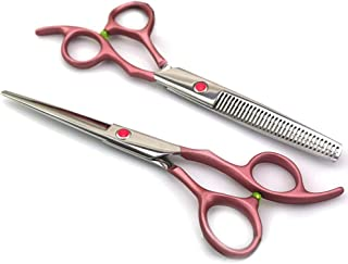 Sharp Hairdressing Scissors/Thinning Scissors V-Shape Herringbone Cut 440C 17 8 cm-All Salon Barbers Or Home Use