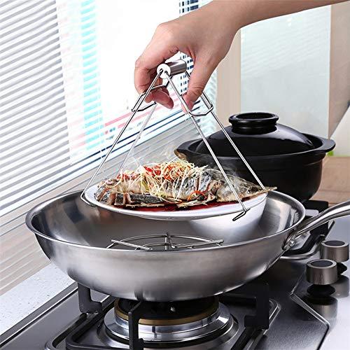 蒸したての茶碗蒸しや熱々の蒸し皿を取り出すのに便利なトング。ミトンなど使いにくい場合などにも役立ちます。ジャムやピクルスを作る際の瓶の煮沸消毒にも使えますので、ひとつあると重宝します。