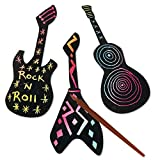 Groovy Scratch Guitars Craft Kit