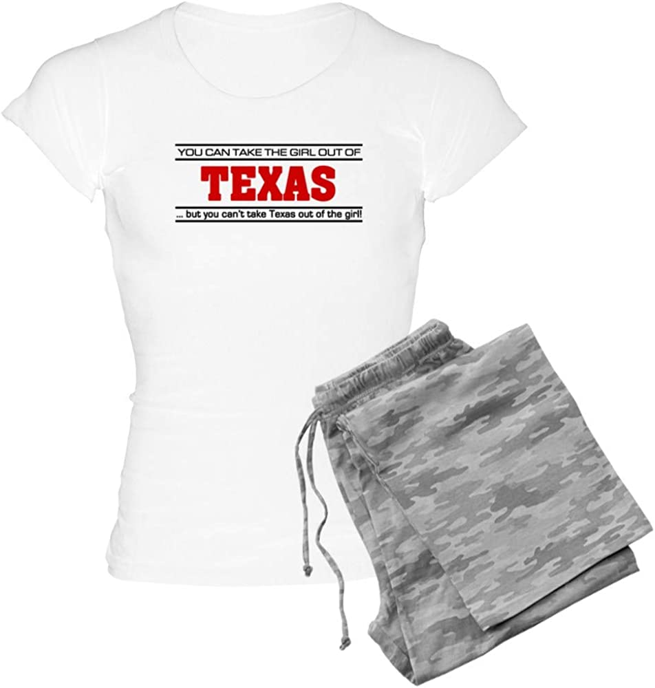 CafePress Genuine Free Shipping 'Girl from Mesa Mall Texas' Light PJs Women's