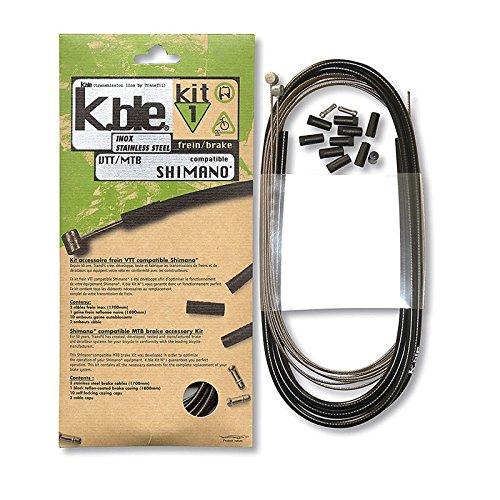 VARIOS - 25506/213 : Kit fundas cables sirgas siergas freno inoxidable mtb...