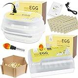MINICHICK Incubadora digital totalmente automática de huevos gallina con volteo / diseñada en España. Control de...