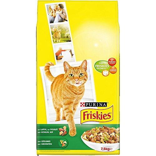 Friskies Cat - chemische Kaninchen - 7,5 kg