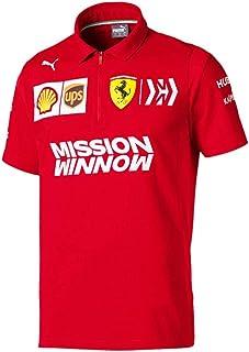 Ferrari Scuderia 2019 F1 Men's Team Polo Shirt