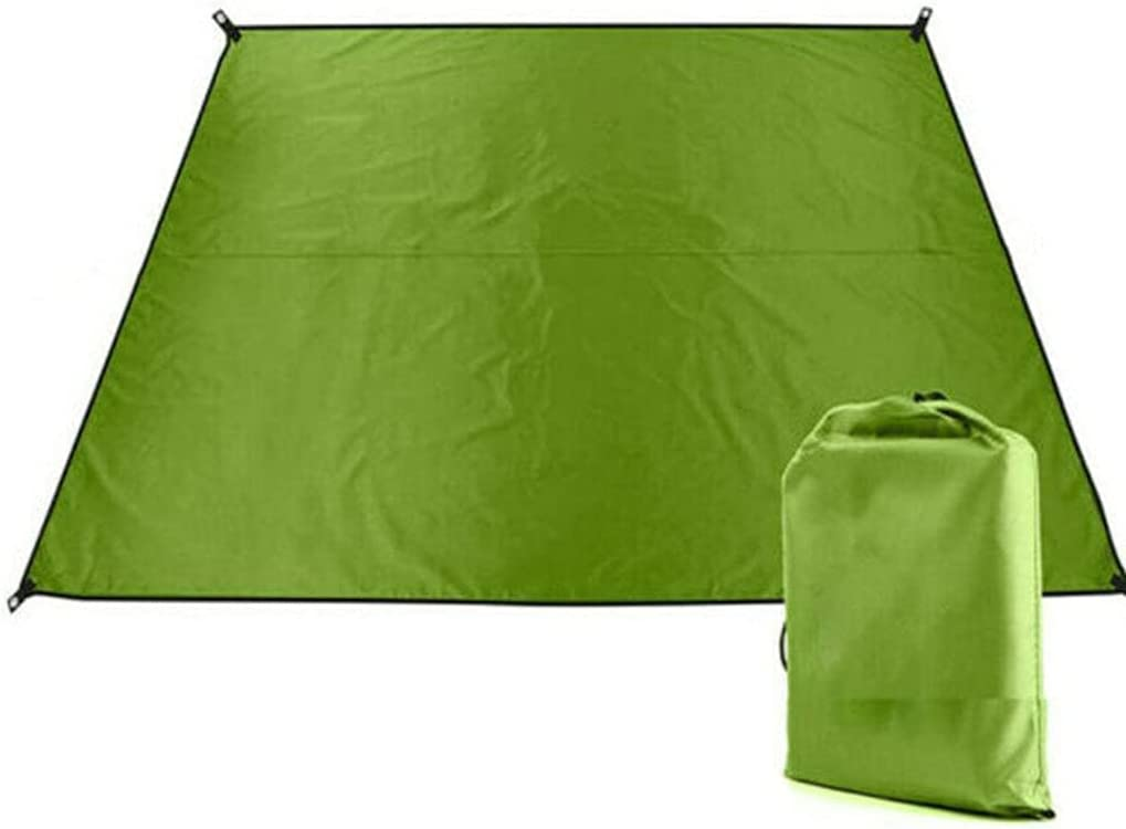CIJK Outdoor Camping Tent Free shipping anywhere in the nation Waterproof Max 64% OFF Oversiz Sunscreen Mat Cloth