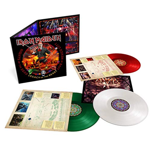 Legacy Of The Beast - Live In Mexico City - Coloured Vinyl - Sealed