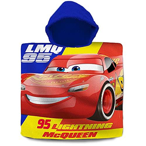 Poncho Toalla algodón de Cars
