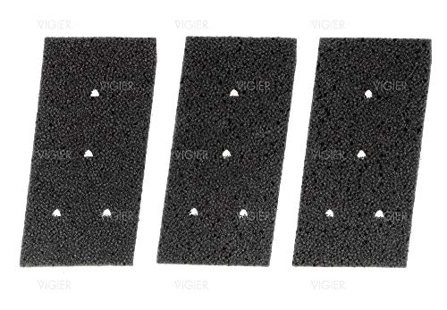 2x materiale espanso-Filtro per BAUKNECHT TK SPORT 2012 TK Uniq 83a TK Uniq 93a