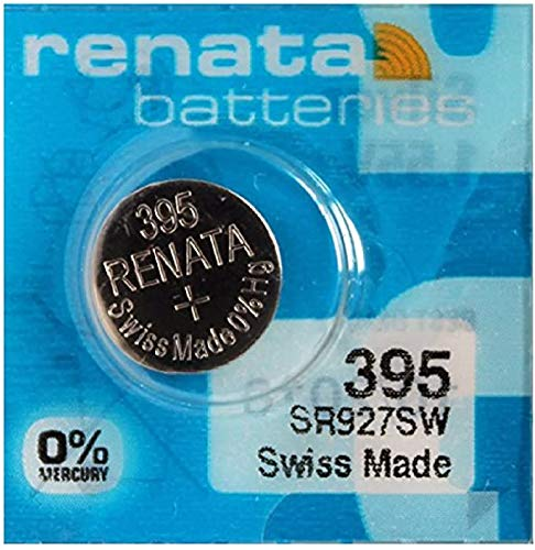 Batería de ion de Renata 395 Sr927Sw plateado 1,55 V - de...