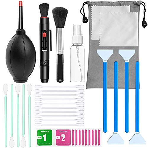 36 Pcs Camera Cleaning Kits,DanziX Professional Cleaning Tool Set Used for DSLR Cameras Computer and Smartphone Lens