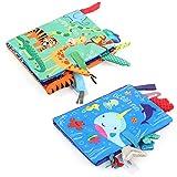 LEADSTAR Libretti per Bambini 0 3 Anni, Libro Stoffa, Bambino Cognition Libro Bebe, Quiet ...