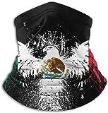 Wfispiy Schlauchmaske Stirnband Uni Mexico