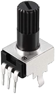 uxcell Potentiometer 10K Ohm Variable Resistors Single Turn Rotary Carbon Film 10pcs
