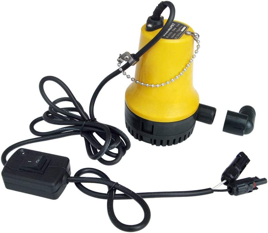 Sump Pump 13GPM Large Folw Translated Water NEW before selling ☆ Battery Solar or Powered 1