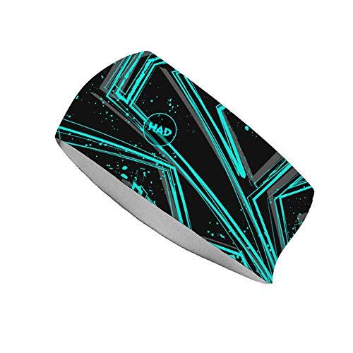 HAD® Repenser brossé Sauvage à la Main Style Band – Multicolore, Taille Unique