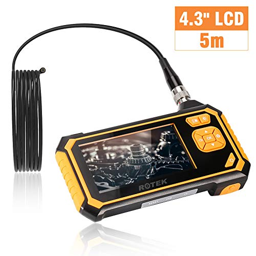 ROTEK Semi-Rigid Handheld Inspection Camera