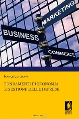 Fondamenti di economia e gestione delle imprese
