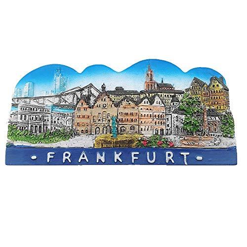 Eintracht Frankfurt Skyline Magnet