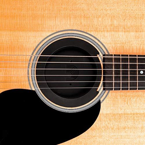 D'Addario PW-SH-01 - Tapa para guitarras acústicas, negro