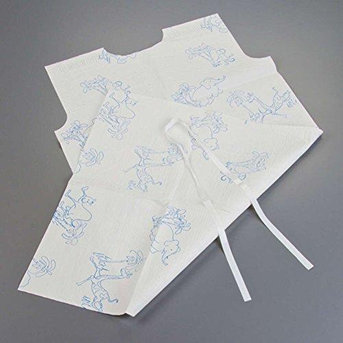 Graham Medical 280 Animal Parade Tissue/Poly/Tissue Pediatric Gown, 20