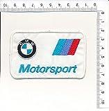 Parche, Parches Termoadhesivos,Parche Bordado Para la Ropa Termoadhesivo, Patch 'BMW MOTORSPORT' Logos F1, Moto GP y Patrocinadores