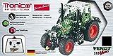 RC Metallbaukasten, RC FENDT 313 VARIO, RC Traktor, ferngesteuert, 27 MHZ, Maßstab 1:24, 574 Teile, Tronico, Baukasten inklusive Werkzeug