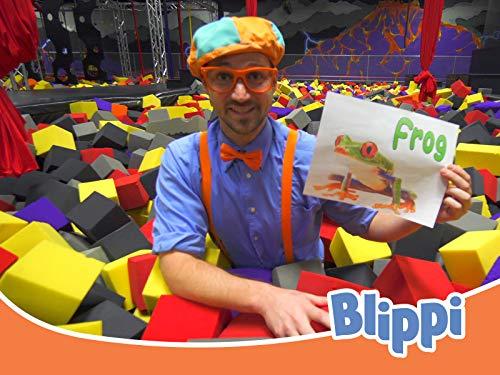 Blippi Visits an Indoor Trampoline Park - Fun Educational Kids Videos